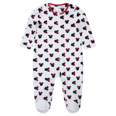 Surpyjama en velours Disney Minnie du 12 mois au 5 ans