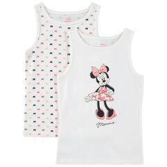 Lot de 2 maillots de corps print Minnie Disney