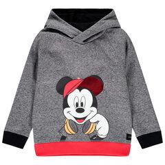 Sweat en molleton à capuche print Mickey Disney et sequins , Orchestra