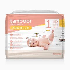 Couches Premium T1 nouveau-né (2-5 kg) - x35