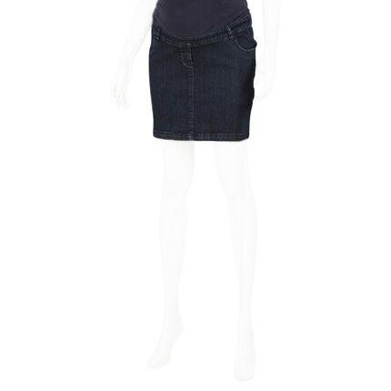 Jupe en jeans de grossesse bandeau haut