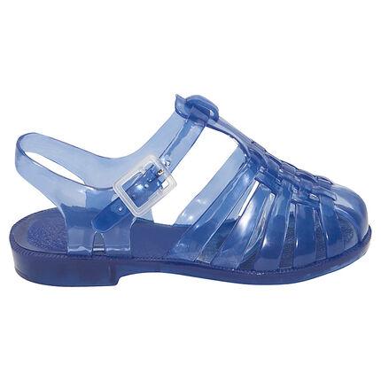 Chaussures de plage transparentes unies du 20 au 23