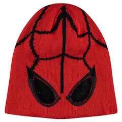 Bonnet en tricot Marvel motif Spiderman
