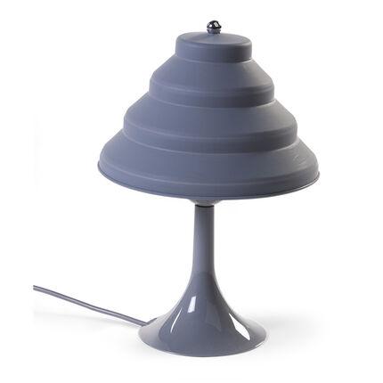 Lampe de chevet en silicone - Gris-bleu