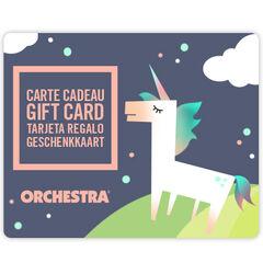 Offrez la carte cadeau Orchestra et faites plaisir à coup sûr bebeFille