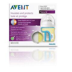 Housse de protection isotherme pour biberon 120 ml