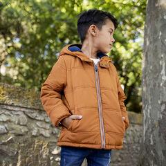 Doudoune à capuche doublée micropolaire pour enfant garçon , Orchestra