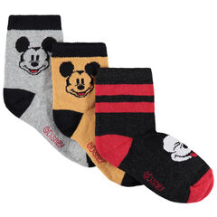 Lot de 3 paires de chaussettes motif Mickey Disney , Orchestra