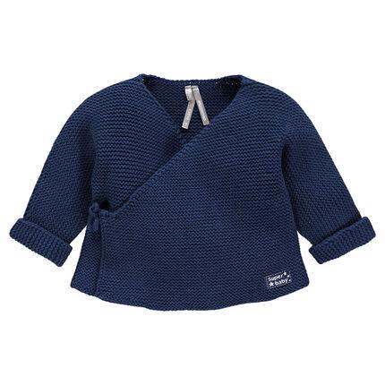 Brassière en tricot unie