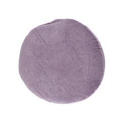 Housse ronde de coussin d'allaitement - Violet