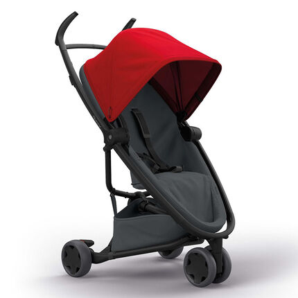 Poussette canne Zapp Flex - Red on Graphite