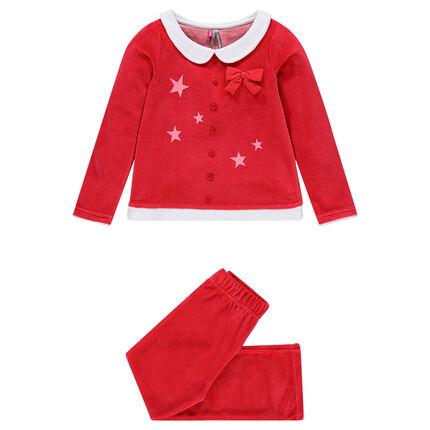 Pyjama de Noël en velours