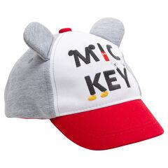 9065345905a Casquette avec oreilles de Mickey en relief et inscription brodée ©Disney