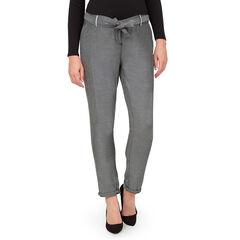 Pantalon chino de grossesse à poches et ceinture amovible