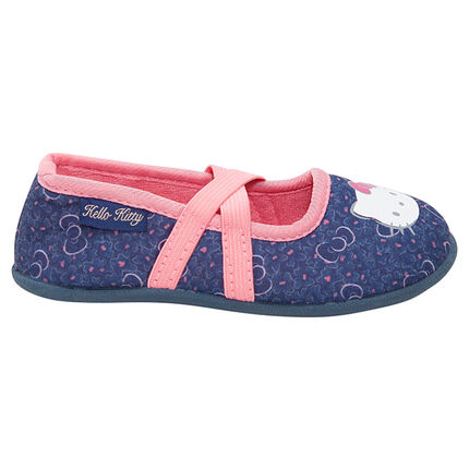 Chaussons babies en jersey print Hello Kitty