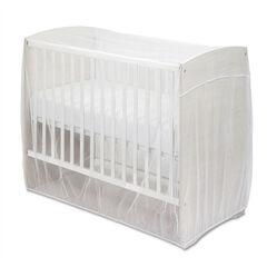 Moustiquaire universelle pour lit de bébé - Blanc , Prémaman
