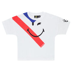 Tee-shirt manches courtes avec print ©Smiley COUPE DU MONDE DE FOOTBALL 2018