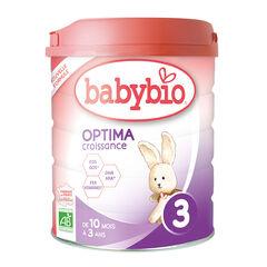 Lait en poudre 2ème âge au lait de vache bio Optima 3 - 800g