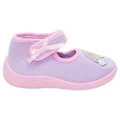 Chaussons forme babies avec patch ©Smiley