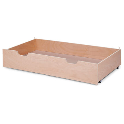 tiroir de lit b b 60 x 120 cm naturel orchestra fr. Black Bedroom Furniture Sets. Home Design Ideas