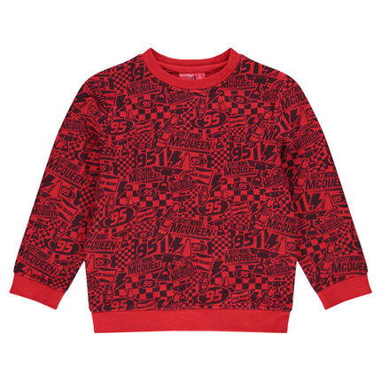 Sweat en molleton Disney/Pixar® imprimé Cars all-over