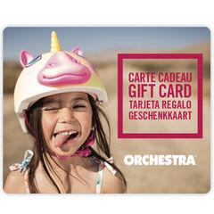 Offrez la carte cadeau Orchestra et faites plaisir à coup sûr fille2, Divers