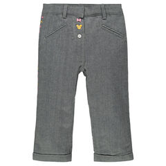 Pantalon en toile chevrons doublé sherpa Disney Minnie