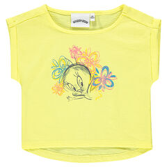 Tee-shirt manches courtes Looney Tunes Titi