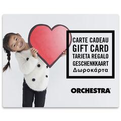 La E-carte cadeau Orchestra fille