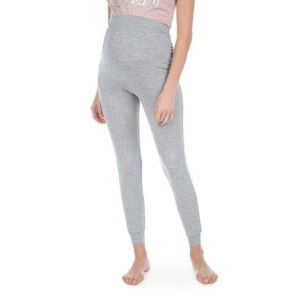 Pantalon homewear de grossesse avec bandeau haut