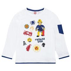 Tee-shirt manches courtes print Sam le pompier ©Prism Art and Design Limited