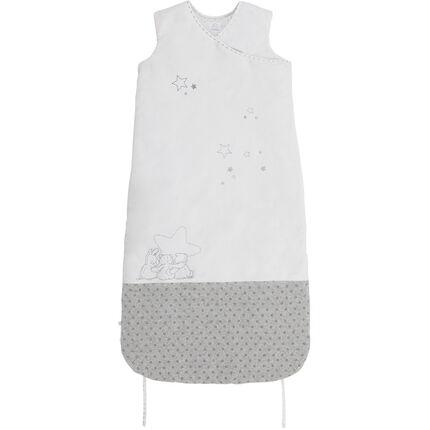 Gigoteuse Poudre d'Etoiles Blanc - 90-110 cm