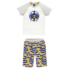 Junior - Pyjama court en jersey Marvel print Batman