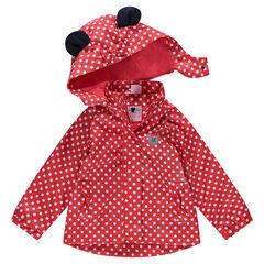 Coupe-vent en gomme à pois all-over Disney Minnie