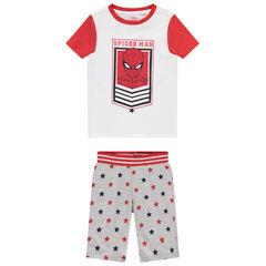 Pyjama en coton print Spiderman et étoiles