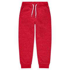 Pantalon de jogging en molleton chiné 5596cd29adb