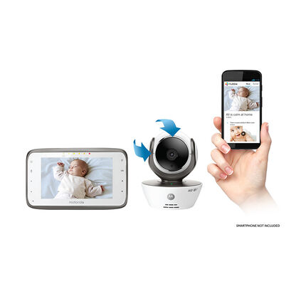 HD Wifi Babyphone Camera Ecran LCD 3.4