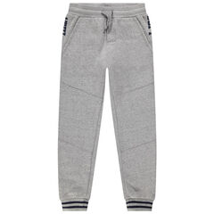 Junior - Pantalon de jogging en molleton doublé micropolaire