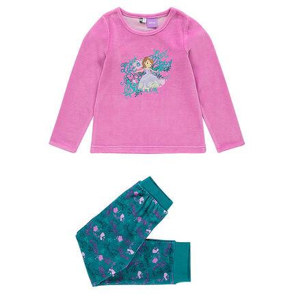 Pyjama long en velours - Disney Princesse Sophie