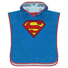 Cape de bain à capuche DC Comics logo Superman