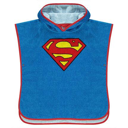 cape de bain capuche dc comics logo superman orchestra fr. Black Bedroom Furniture Sets. Home Design Ideas