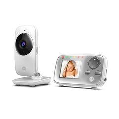 Moniteur babyphone vidéo MBP482 avec écran 2.4