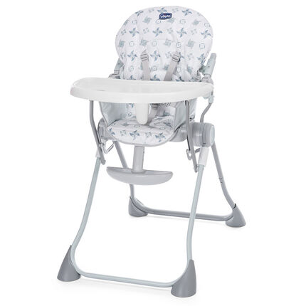 Chaise haute Pocket Meal - Light Grey