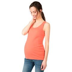 Débardeur de grossesse en maille côtelée