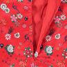 Junior - Tunique en satin avec imprimé fleurs all-over
