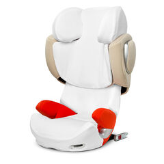 Housse été pour siège auto Solution Qfix/Qflix Plus - Blanc
