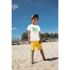 T-shirt manches courtes print van et palmiers pour enfant garçon , Orchestra