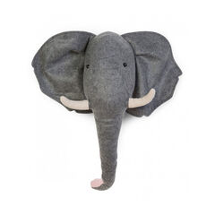 Décoration murale en feutre - Eléphant