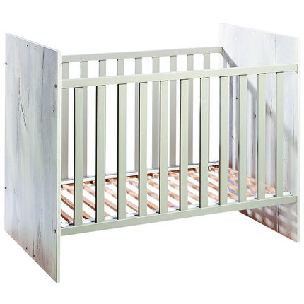 lit 70 x 140 cm bela gris orchestra fr. Black Bedroom Furniture Sets. Home Design Ideas
