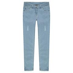 Junior - Jeans slim taille haute